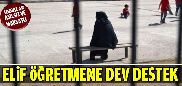 Elif Öğretmene Dev Destek-kamumemurlar.com