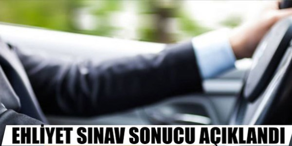 08.02.2014 Tarihli Ehliyet Sınavı Sonuçları Açıklandı - Tıkla Öğren!-kamumemurlar.com
