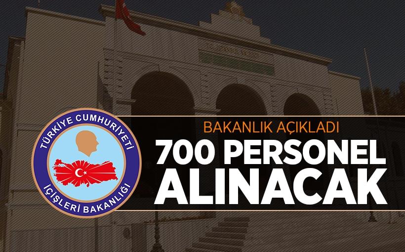 İstanbul Valiliği 700 Personel Alacak
