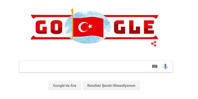 Google'dan 29 Ekim Cumhuriyet Bayramı'na Özel Doodle!