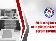 'MEB, Mağdur Ettiği Okul Yöneticileriyle İlgili Çözüm Üretmelidir'