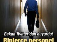 Bakan Twitter'dan Duyurdu: Binlerce Personel Alınacak!